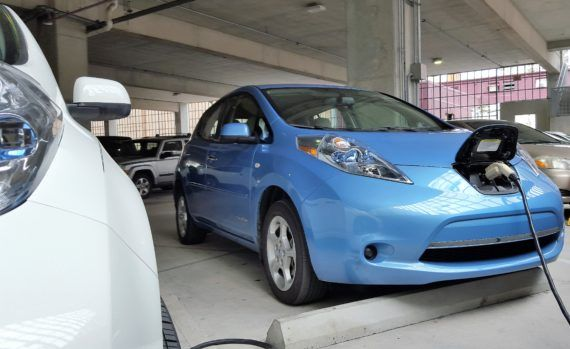 "According to Torque News, ""It might be the only car in history whose price isn't depreciating but appreciating."" https://cleantechnica.com/2017/04/24/used-nissan-leaf-appreciating-can-thank-overseas-cities-banning-gas-cars/"