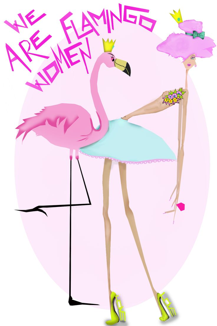 WE ARE FLAMINGO WOMEN. SUPPORTING THE FIGHT AGAINST BREAST CANCER. BY Tamara Heraclio