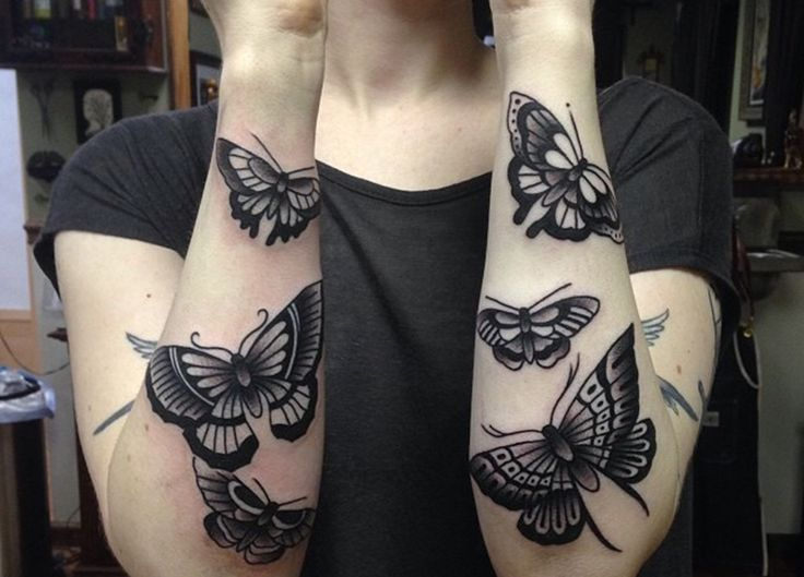 Tatuajes de Mariposas, sensualidad con un profundo significado - http://www.tatuantes.com/tatuajes-de-mariposas-significado/