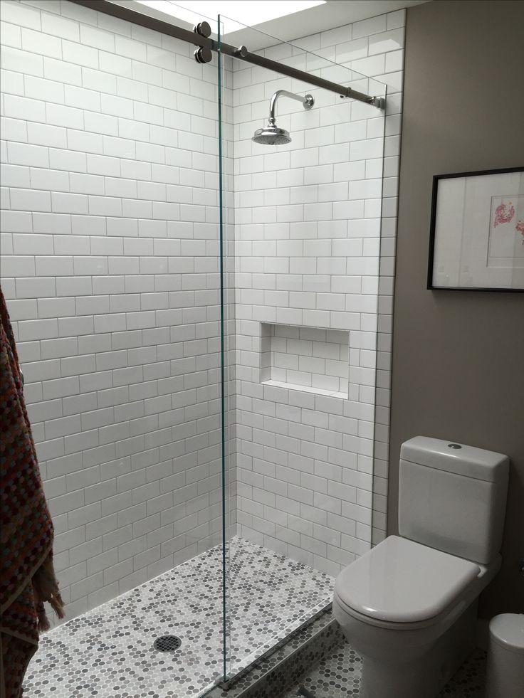 Serenity Sliding Glass Shower Door interior design by Koo de Kir Architectural Interiors