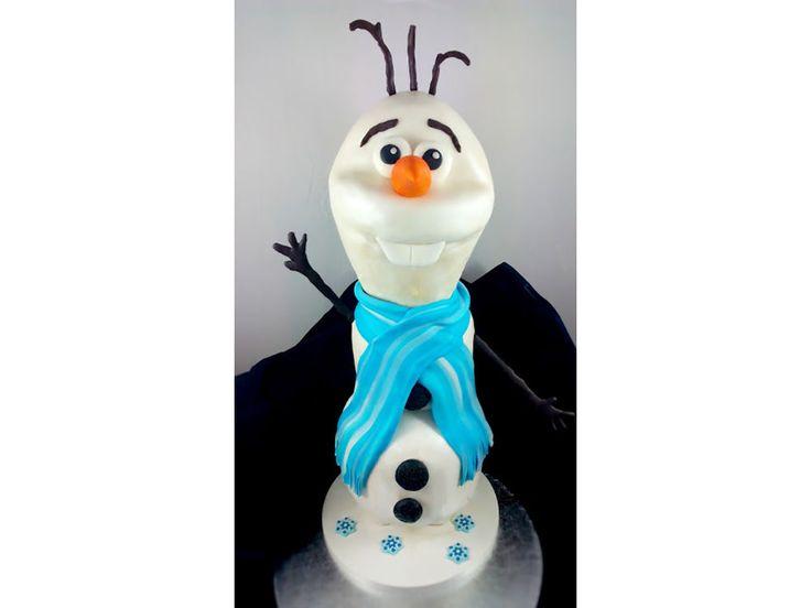 Olaf 3D Torte (Frozen / Die Eiskönigin)