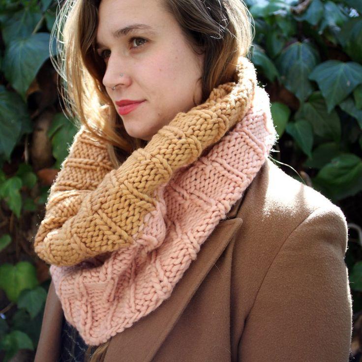 Verb x Quince Northwoods Cowl Kit - NEW! #kits #knitting #pattern #us-wool #yarn