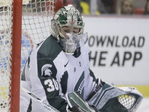 Ohio State 4, MSU 3 (OT): Spartans out of Big Ten hockey... #MichiganStateBasketball: Ohio State 4, MSU 3 (OT):… #MichiganStateBasketball