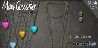 Sugar Heart Necklace Group Gift by Maxi Gossamer