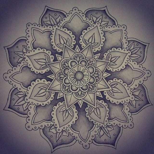 Mandala Designs, mavorz: Finally done! #mandala #art...