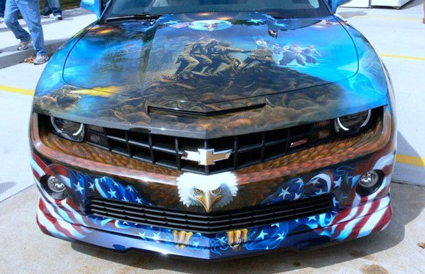 25 Crazy Airbrushed Art Cars | Complex