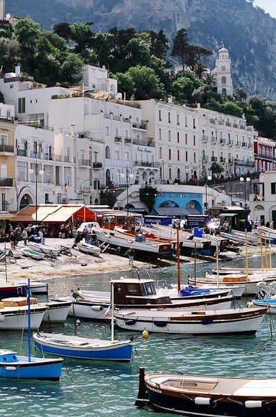 "Marina Grande, Capri, Italia From The Reverse Commute: ""You were there?"" she asked Kathy. ""I'm always with you Sophie."" Looking back towards the Bay of Naples for a second, Sophie then turned to say something else to Kathy, but she was gone."" http://www.amazon.com/The-Reverse-Commute-ebook/dp/B009V544VQ/ref=tmm_kin_title_0"