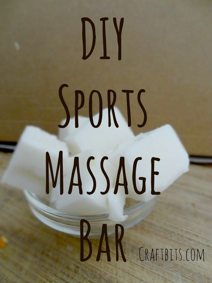 Sports Massage Bar