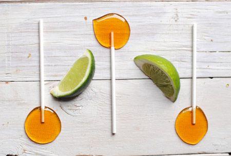 Leanne bakes: Homemade Tequila Lollipops