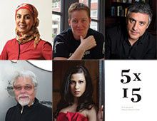 #5X15 Five brilliant speakers, 15 minutes each. Magic. (19+) July 10 @ 9pm @FoxCabaret @IndianSummerCND #TIX http://www.ticketstonight.ca/includes/events/index.cfm?action=displayDetail&eventid=10515 5x15 is a speakers series that originated in London, with the simple but brilliant format of five speakers, speaking for fifteen minutes each, on any topic they are truly passionate about. Come early to the Fox Cabaret, settle down with a drink in hand, and watch the magic unfold.