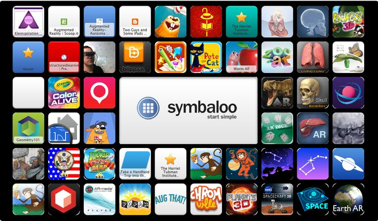 Augmented Reality aps curated on Symbaloo