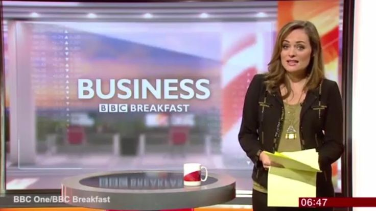 Victoria Fritz managed to finish her piece for BBC Breakfast before being rushed to hospital: