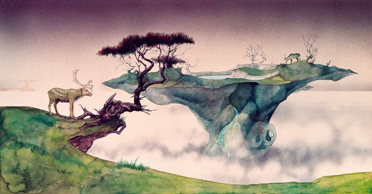 The weird worlds of Roger Dean, prog rock's artist in residence