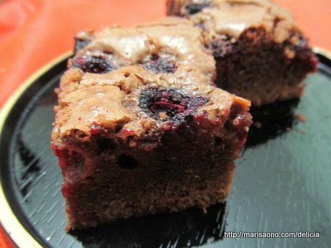 Brownie  de Framboesa