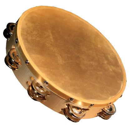 The Granite Percussion 10-inch Wood Frame Tambourine features a Natural Head and is excellect for the super affordable price. - Rugged Wood Frame - Natural Head