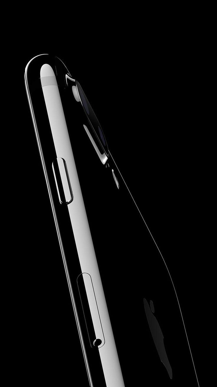 Wallpaper iphone jet black - Iphone7 Jetblack Dark Shine Art Illustration Wallpaper Hd Iphone