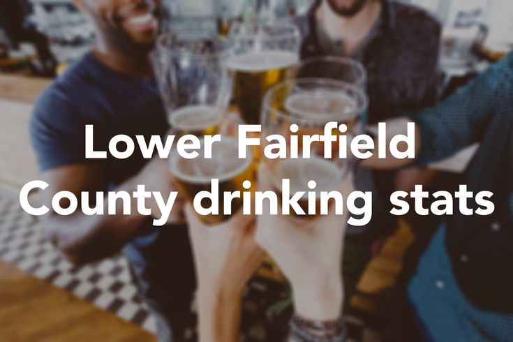 With the holidays approaching, people will be letting loose with a few drinks; Thanksgiving Eve, in particular, is one of the biggest drinking nights of the year. But according  to a study from 24/7 Wall St.,  lower Fairfield County goes heavy on the drinking no matter the time of year.  #thanksgiving #FairfieldCounty #DUI