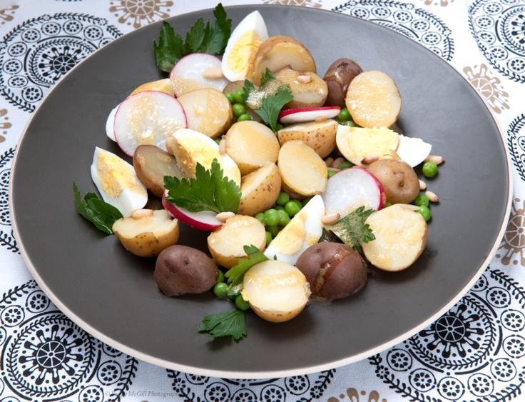 Potato-Salad-with-peas-and-eggs | Recipes | Pinterest | Potato Salad ...