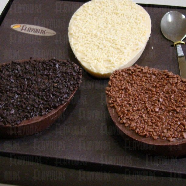 Trilogia de ovos de colher - Flavours