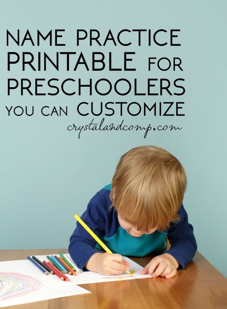 145 best images about Preschool Name WritingLearning on Pinterest