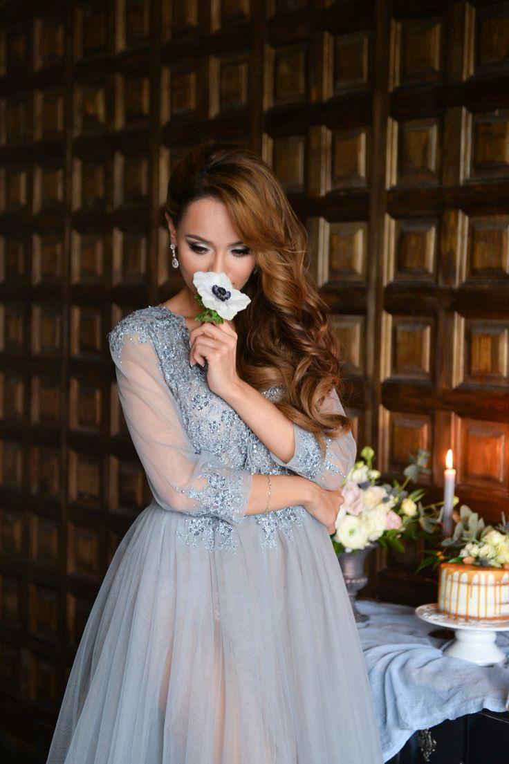 Фотосессия в будуарном платье, стилист на фотосъёмку