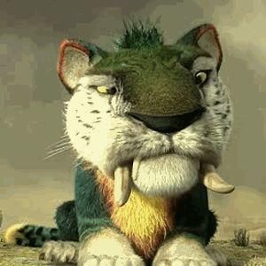 os croods tigre - Pesquisa Google   animais fofos de ...