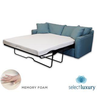 Select Luxury New Life 4.5-inch Queen-size Memory Foam Sofa Bed Sleeper Mattress | Overstock.com Shopping - The Best Deals on Mattresses
