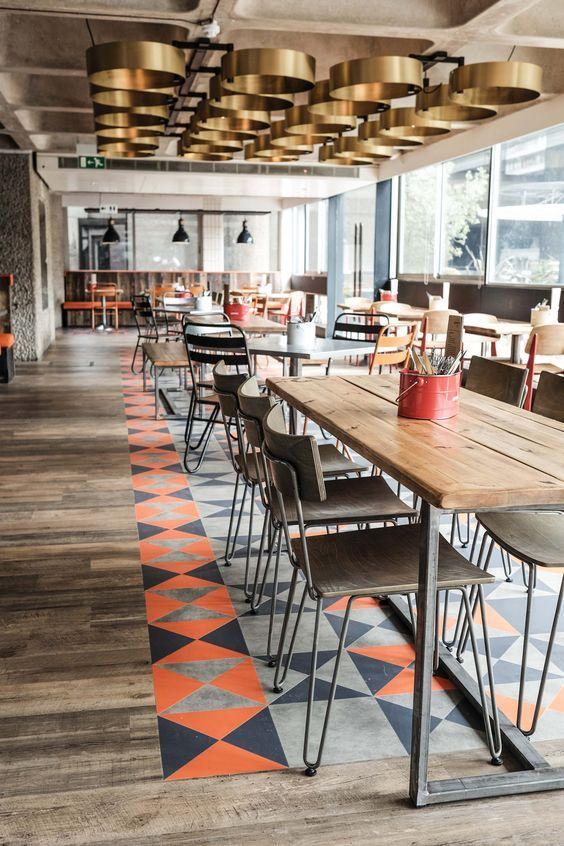 Bonfire Restaurant @ The Barbican Centre, London - Google Search