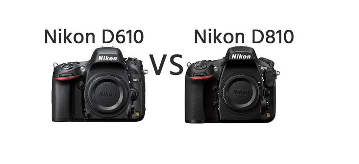 Nikon D610 vs Nikon D810 Comparison   https://dslrcamerasearch.com/nikon-d610-vs-nikon-d810-comparison/ A DSLR camera is extremely useful when taking quality shots or if you want to consider a career in photography. However, there are different types of ...  https://dslrcamerasearch.com/nikon-d610-vs-nikon-d810-comparison/