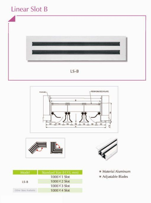 Drywall Slot Diffuser : Best images about linear slot diffusers on pinterest