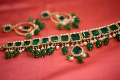 emerald, royal, modern