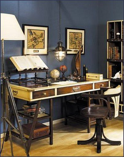 25 best ideas about nautical office on pinterest for Cheap nautical decorating ideas