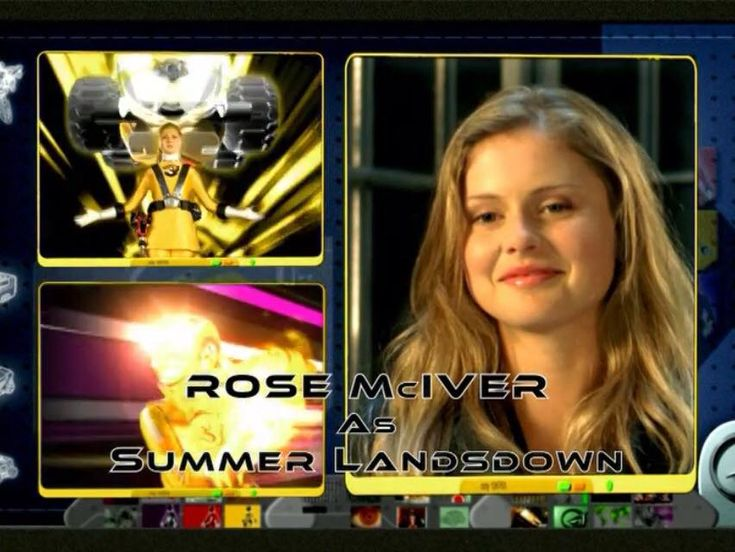 Rose Mciver Power Rangers Rpm