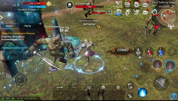 Lineage 2 Revolution is a Free Android Action Role Playing