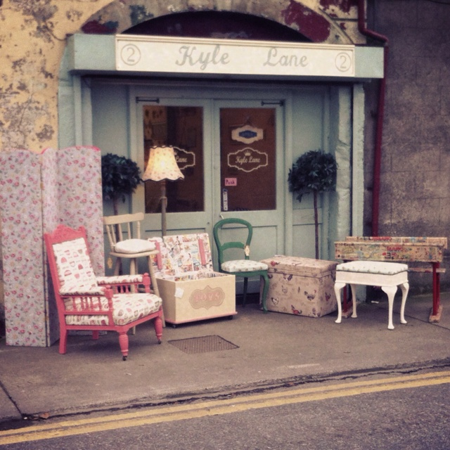 My upcycling furniture shop in clonmel co tipp ireland for Furniture upcycling course