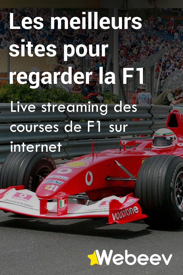 Courses de F1 en direct gratuit sur internet. Live streaming de Formule 1 en ligne.