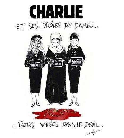 Á mes yeux, c'est le cartoon gagnant #JeSuisCharlie