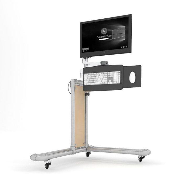 Ergonomischer PC Tisch Zum Selber Bauen Update