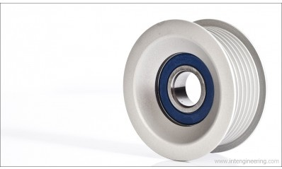 Integrated Engineering Billet Serpentine Belt Tensioner Pulley for 12V VR6 Engines