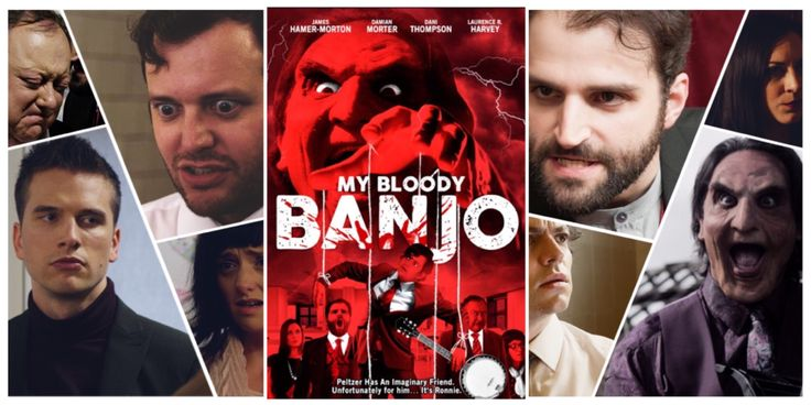 #FF Follow #MyBloodyBanjo on  #Twitter @banjomovie   #Facebook @mybloodybanjo  Coming to the UK 🇬🇧 Uncut ✂️& Uncensored as it should be seen #LiamRegan #SupportIndieFilm #Horror #Comedy