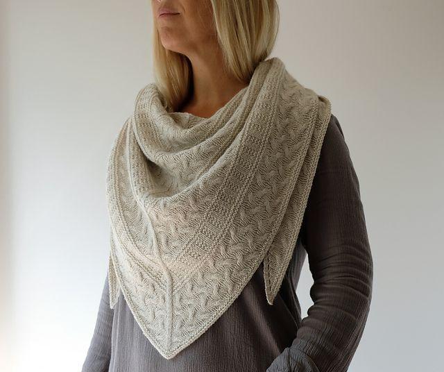 Impreso Knitting instructions-garter Stitch Slouch Gorro Tejer patrón