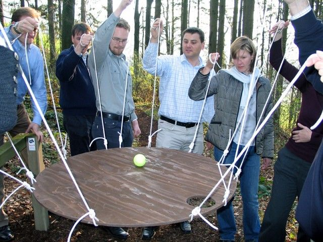 25+ best ideas about Fun team building games on Pinterest | Team ...