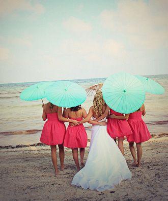 Novia y Damas de Honor -- Fotografía: Eclectic Images