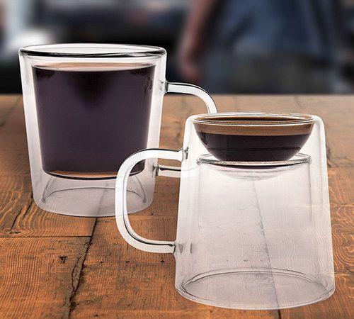 Taza de doble trago | 23 Productos ingeniosos que todo adicto a la cafeína necesita