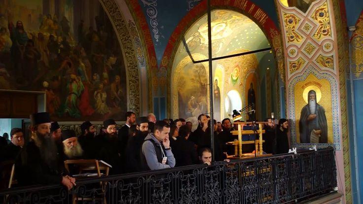 Песнопения на Божественной литургии (иностранные хоры, Валаамский монаст...