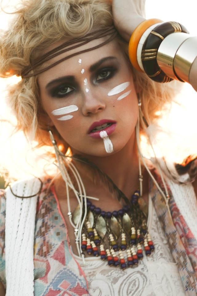 indian tribal makeup Search Pictures Photos