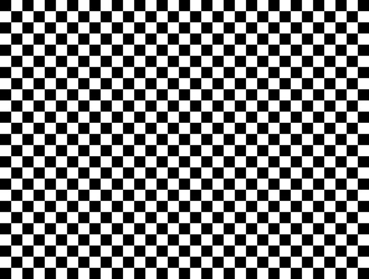 Black and White Check Wallpaper Border Wall Sticker