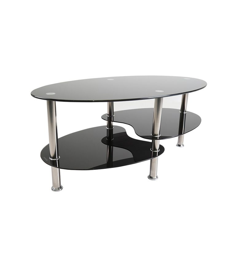 1000 ideas about black glass coffee table on pinterest modern decor classic interior and Black and chrome coffee table