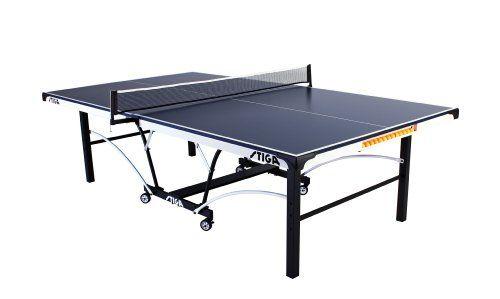Killerspin Myt5 Table Tennis Table Stiga STS 185 Table Tennis Table (62.5-Inch Length x 56.5-Inch Width x ...