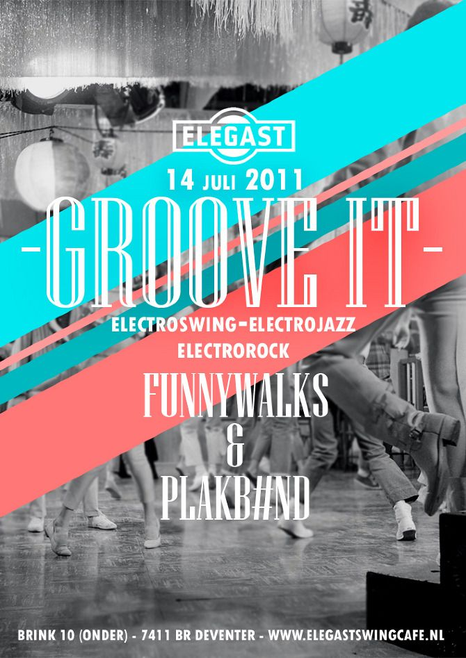 Elegast Groove It Event Flyer #print #design